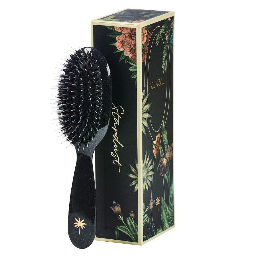 Fan Palm Boar & Nylon Brush Small – Stardust