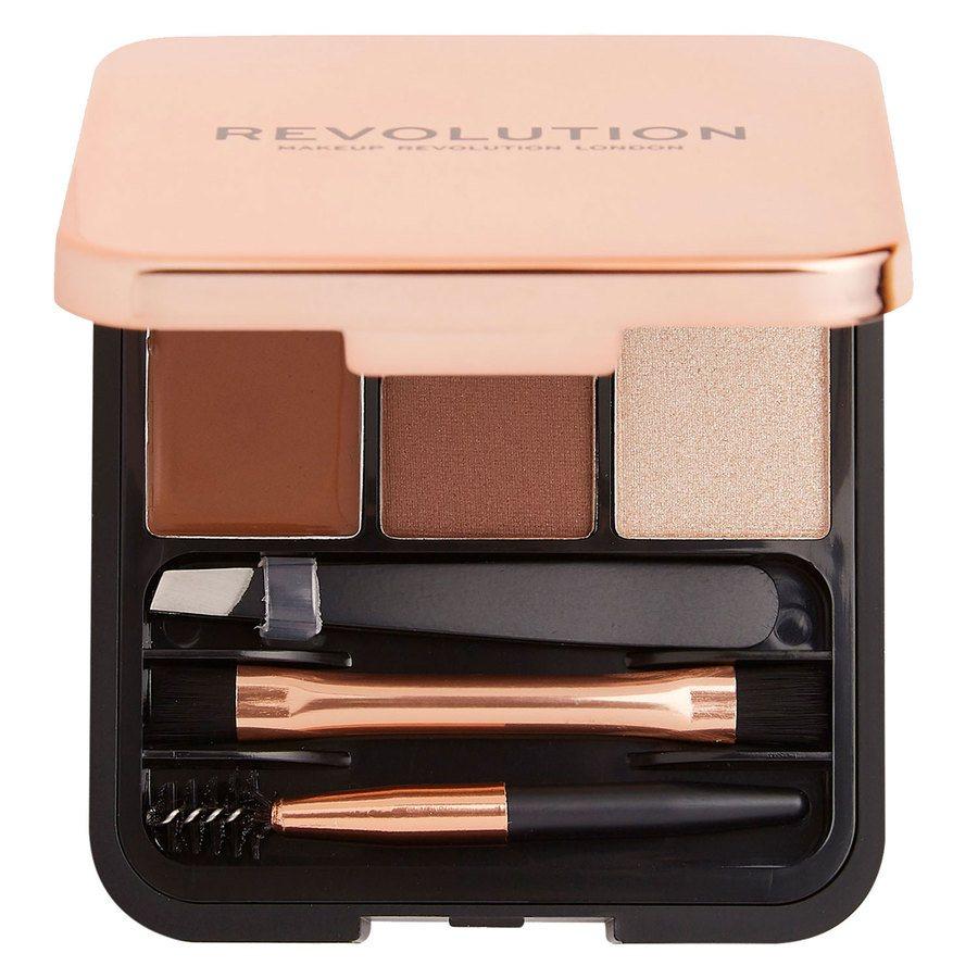Makeup Revolution Brow Sculpt Kit – Medium