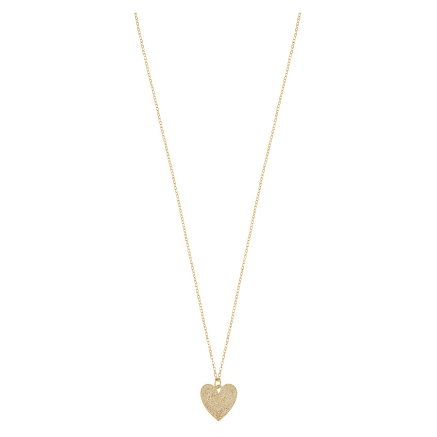 Snö of Sweden Mii Pendant Necklace 42cm Plain Gold