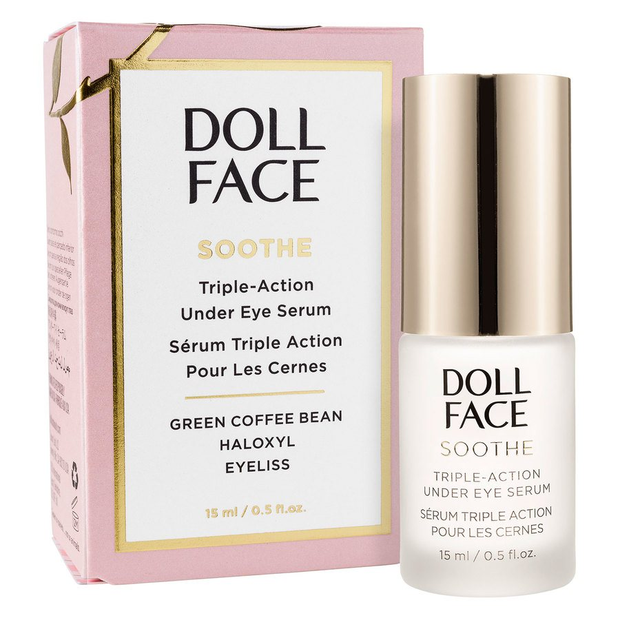 Doll Face Soothe Undereye Puffiness Serum 15 ml