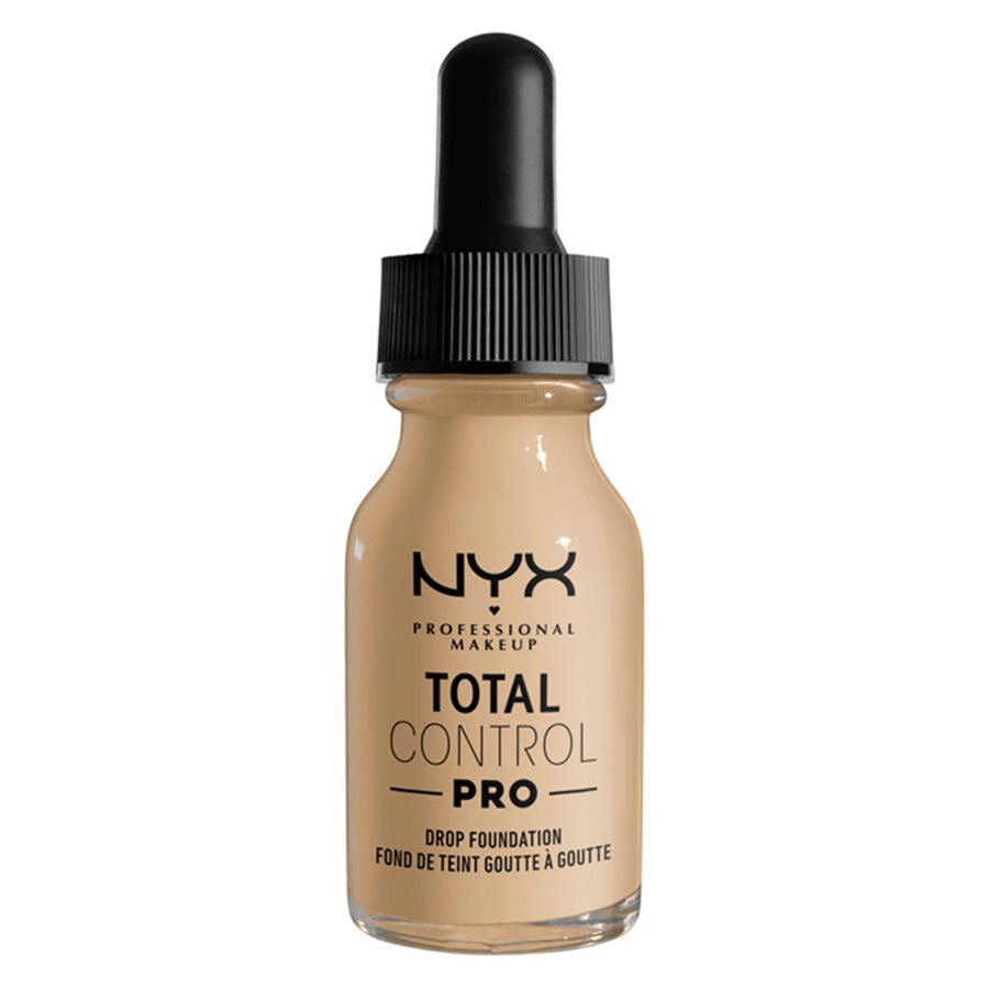 NYX Professional Makeup Total Control Pro Drop Foundation 13 ml ─ Nude