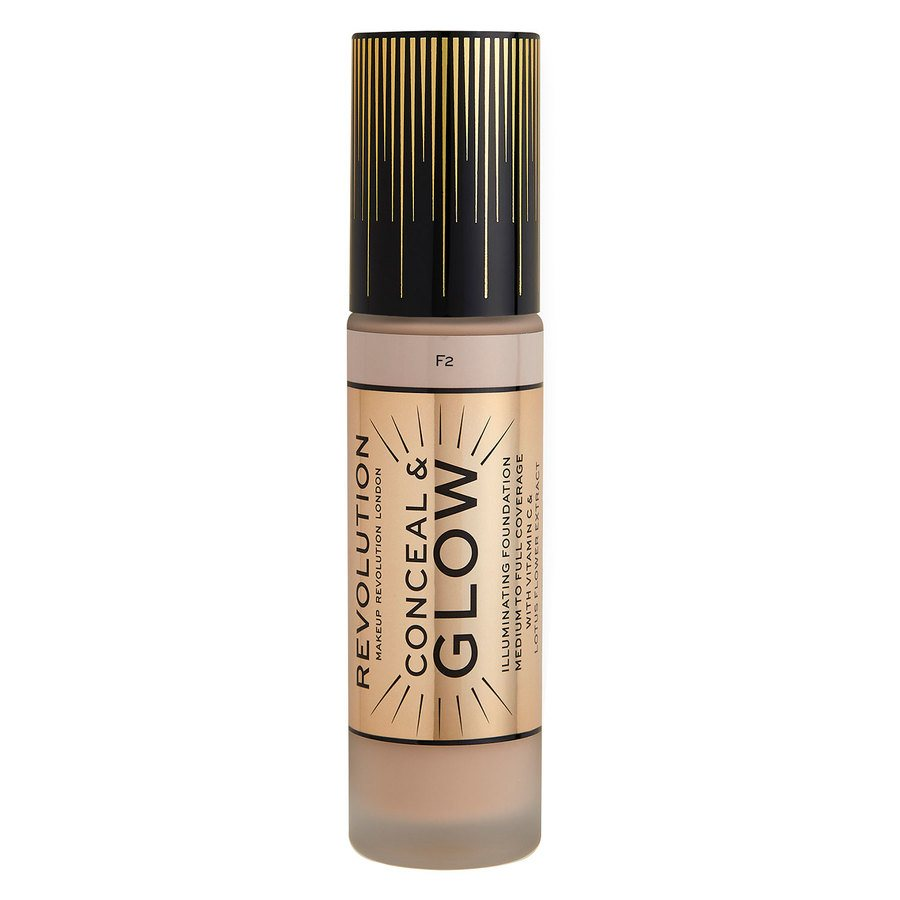 Makeup Revolution  Conceal & Glow Foundation 23 ml ─ F2