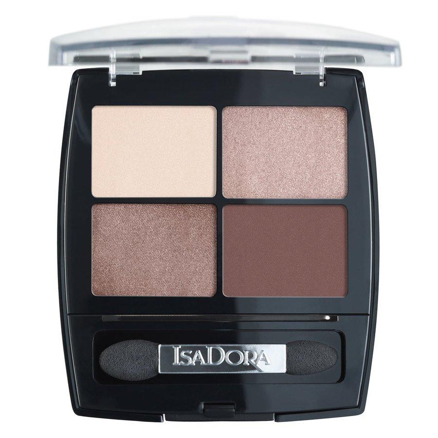 IsaDora Eyeshadow Quartet 5 g – 51 Cappucino