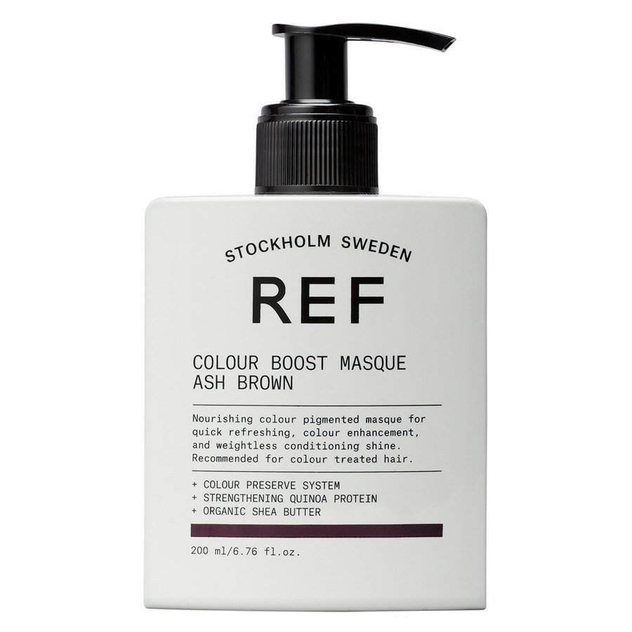 REF Colour Boost Masque 200 ml ─ Ash Brown