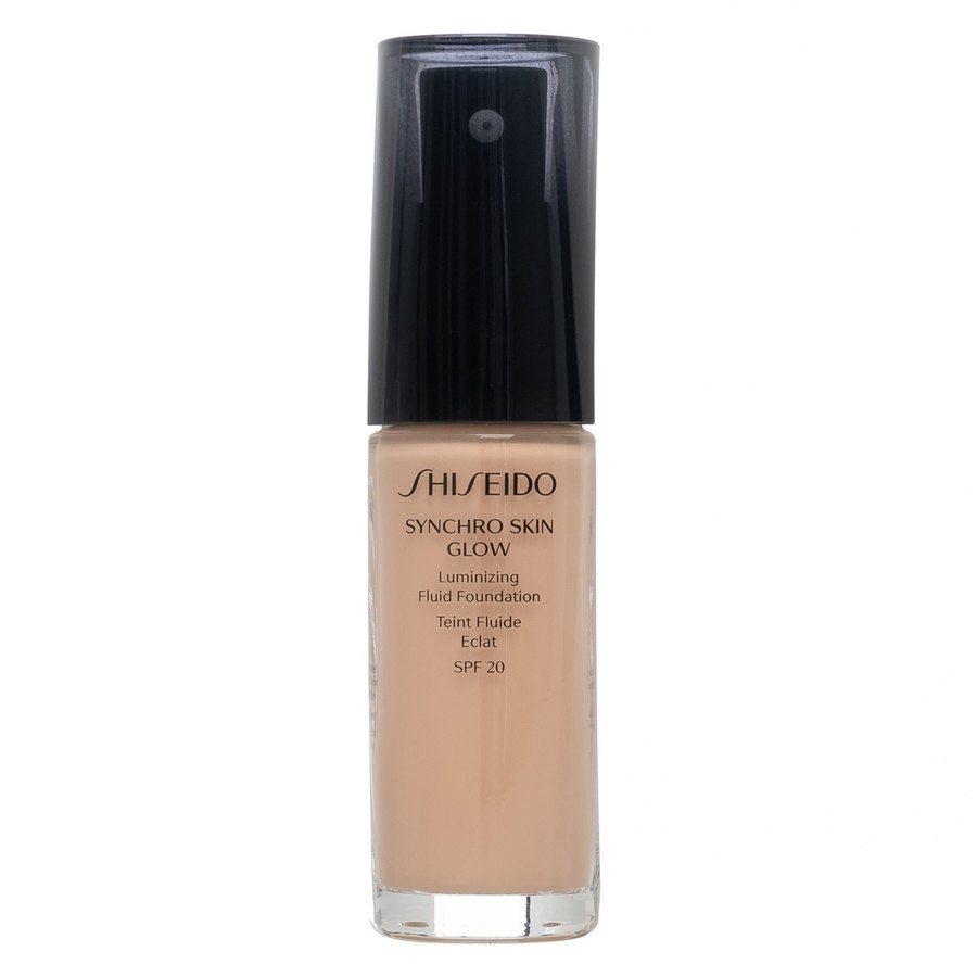 Shiseido Synchro Skin Glow Luminizing Foundation 30 ml - Rose #3