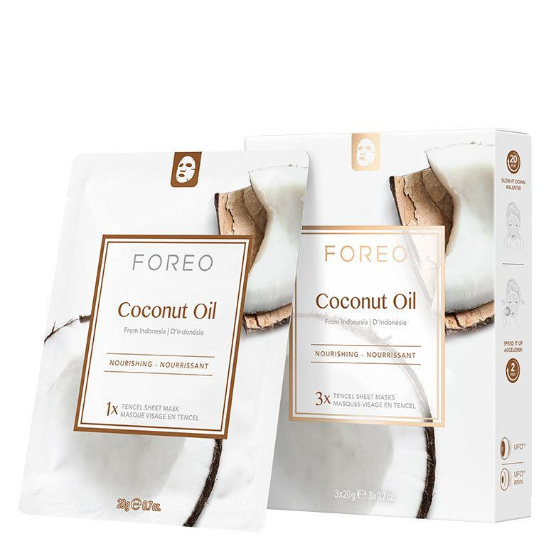 Foreo UFO Mask Coconut Oil Sheet Mask 3 x 20 g