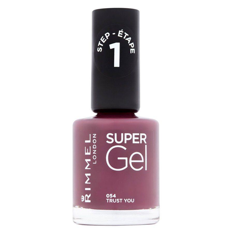 Rimmel London Super Gel Nail Polish 12 ml ─ #054 Trust You