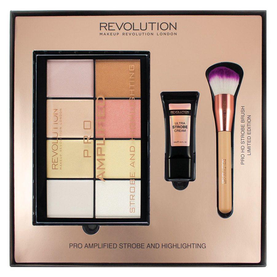 Makeup Revolution Pro Amplified Strobe & Highlighting Lahjapakkaus