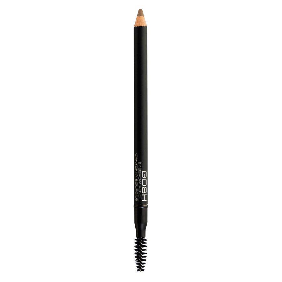 GOSH Eye Brow Pencil 1,2 g ─ #001 Brown
