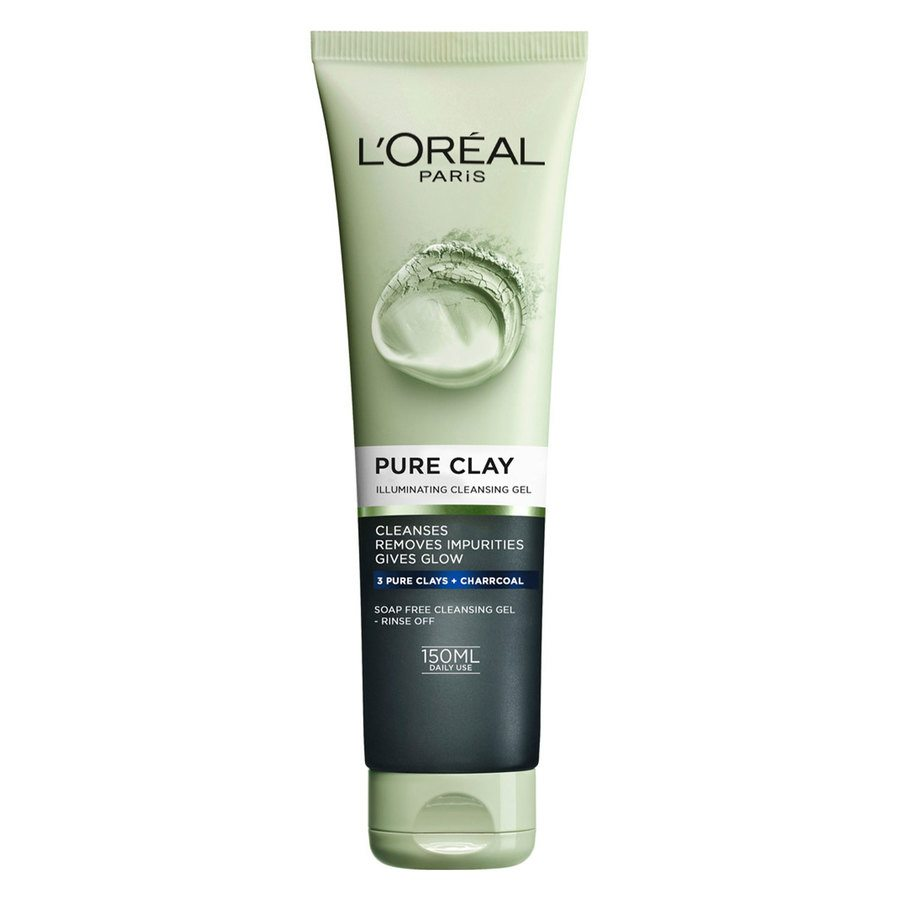L'Oréal Paris Pure Clay Illuminating Cleansing Gel 150 ml