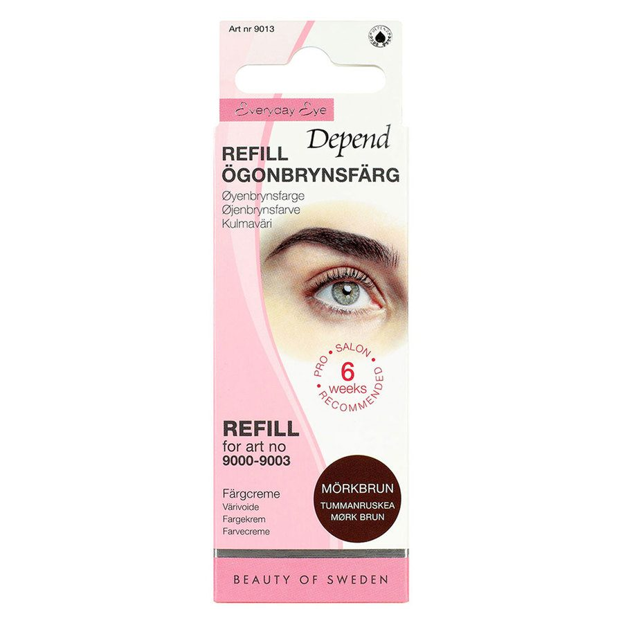 Depend Eyebrow Colour Refill 5 g ─ Dark Brown