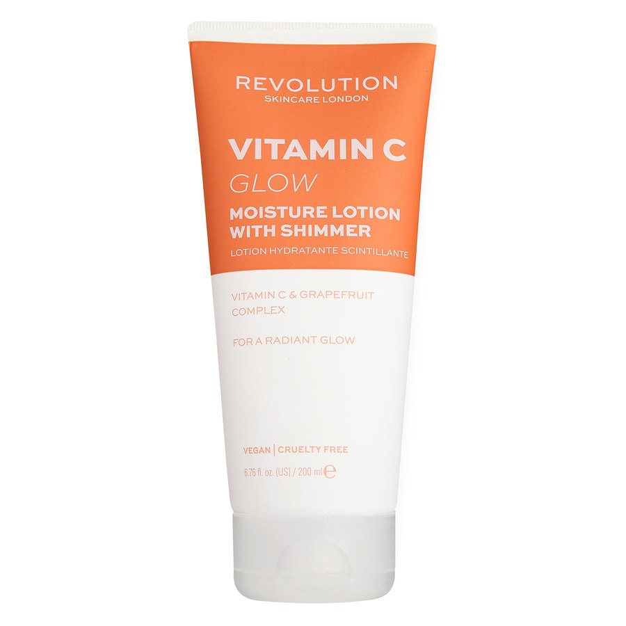 Revolution Skincare Vitamin C Shimmer Body Lotion 200 ml