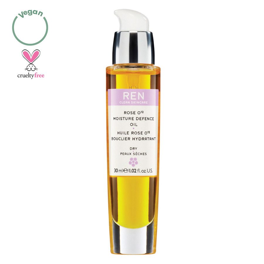 REN Clean Skincare Rose O12 Moisture Defence Oil 30 ml