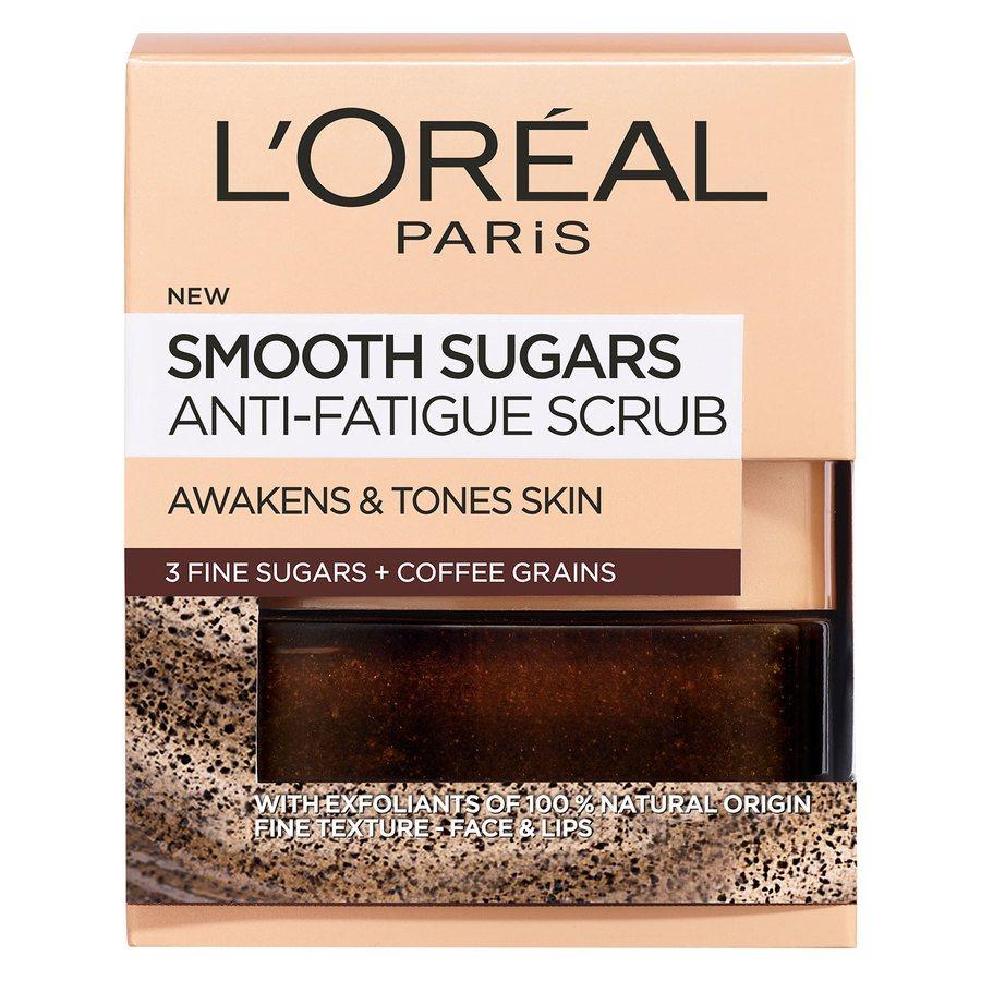 L'Oréal Paris Smooth Sugar Scrub Anti-Fatigue 50 ml ─ Coffee