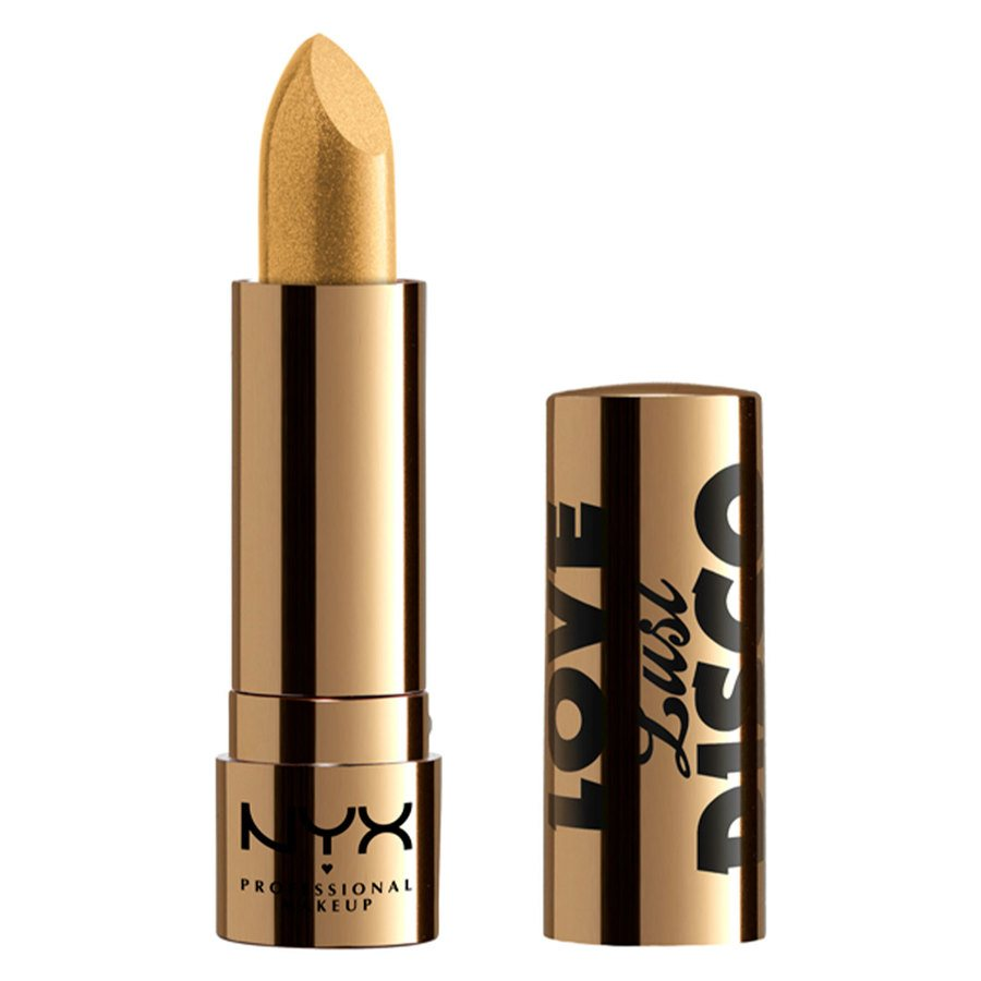 NYX Professional Makeup Love Lust Disco Lipstick 3,5 g – #02 Gold Dipper