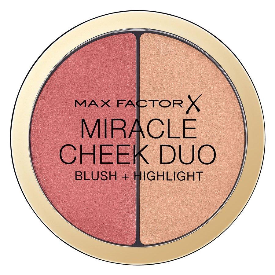 Max Factor Miracle Cheek Duo 11 g ─ Peach & Champagne