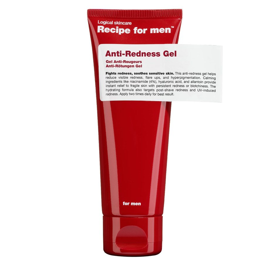 Recipe For Men Anti Redness Gel 75 ml