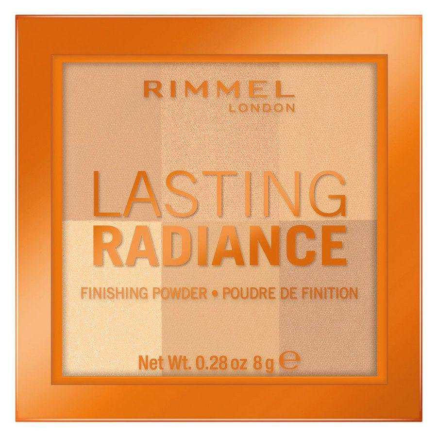 Rimmel London Lasting Radiance Powder 8 g ─ #001 Ivory