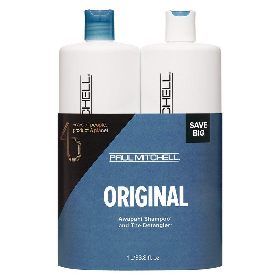 Paul Mitchell Awapuhi Original Shampoo & Detangler Duo 2 x 1000 ml