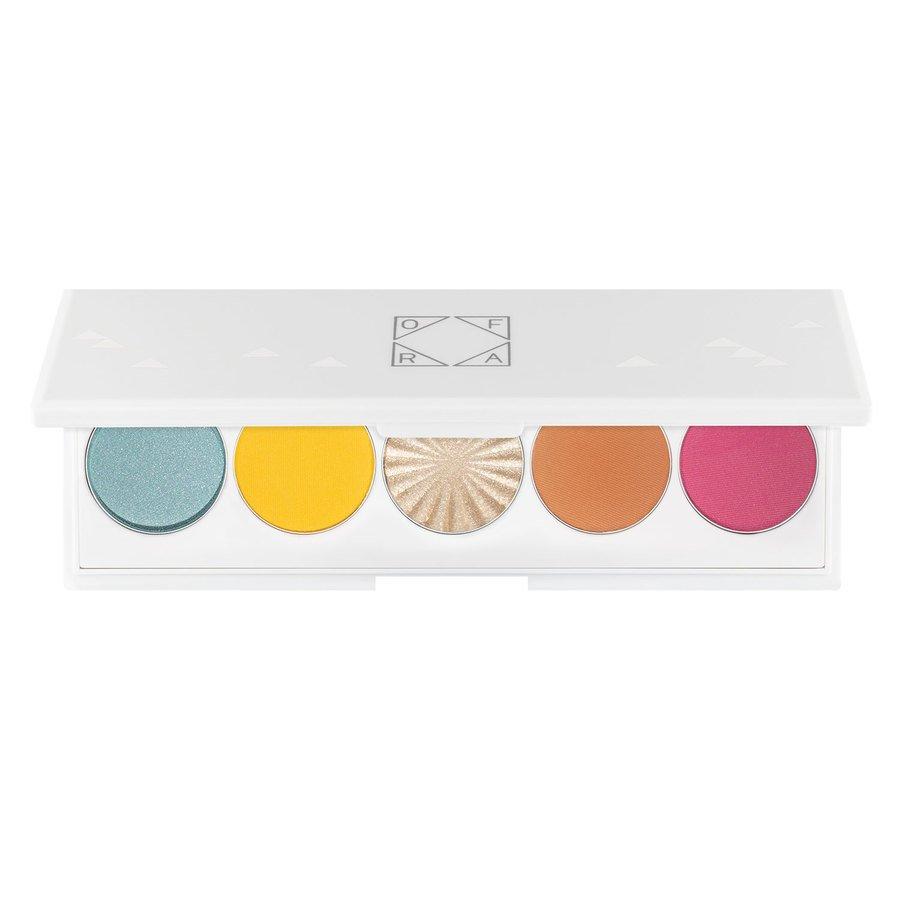 Ofra Signature Eyeshadow Palette Beachside 5 x 2 g