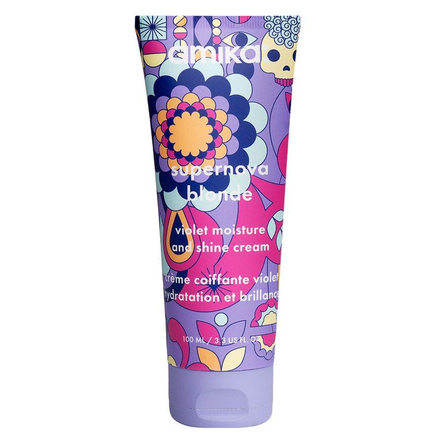 Amika Supernova Blonde Violet Moisture & Shine Cream 100 ml