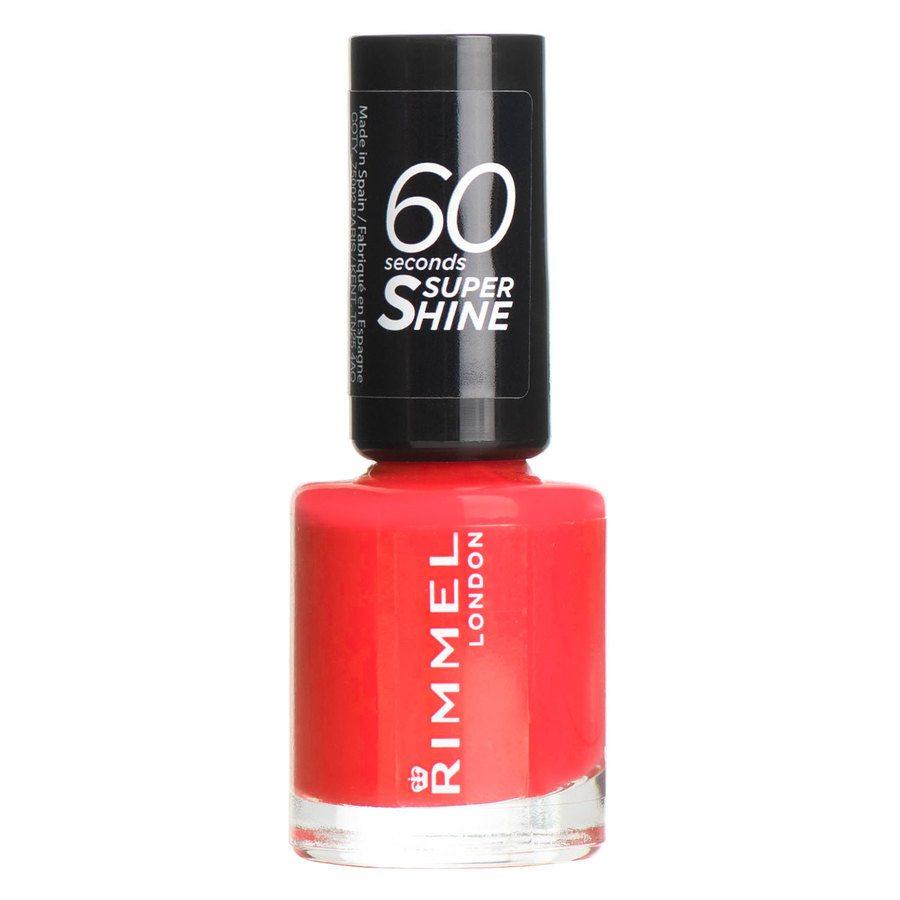 Rimmel London 60 Seconds Super Shine Nail Polish 8 ml ─ #300 Glaston
