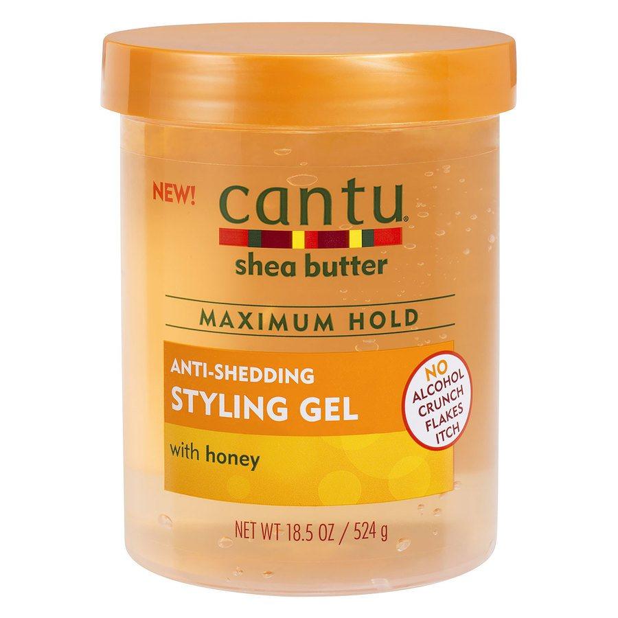Cantu Shea Butter Maximum Hold Anti-Shedding Styling Gel 524 g