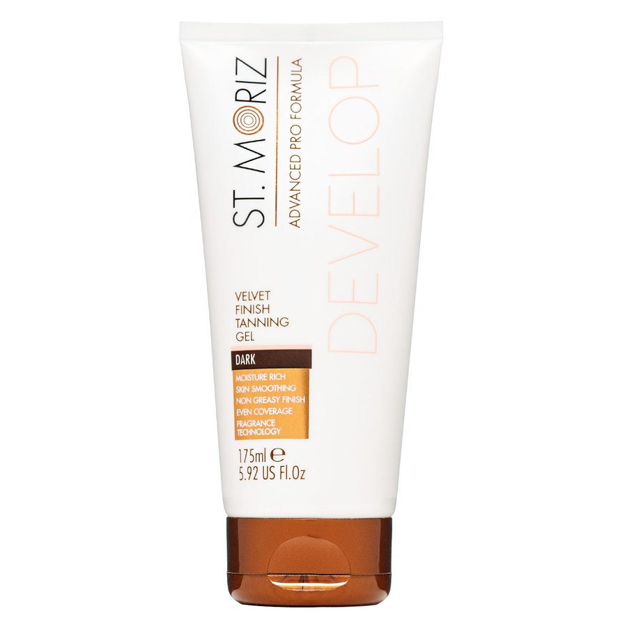 St. Moriz Advanced Pro Formula Develop Velvet Finish Tanning Gel 175ml – Dark