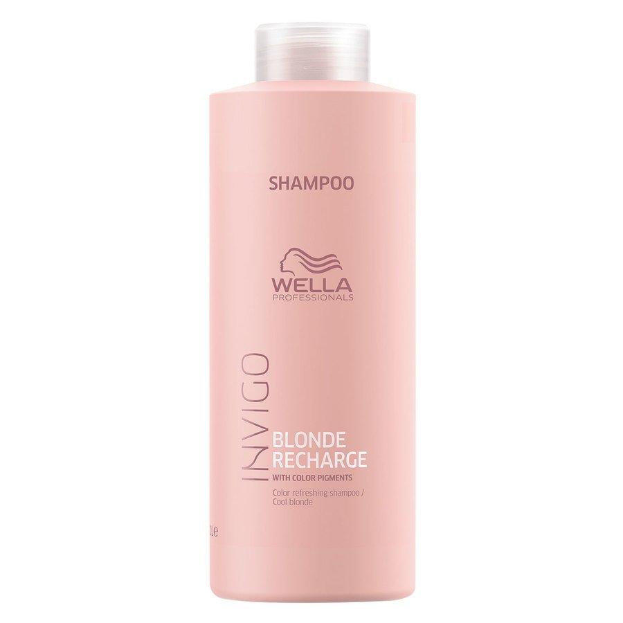 Wella Professionals Invigo Cool Blonde Color Refreshing Shampoo 1 000 ml