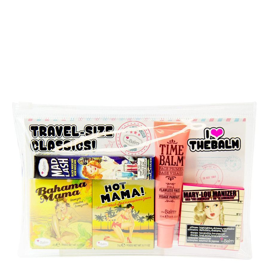 The Balm Travel Set With Cosmetics Bag (5 kpl)