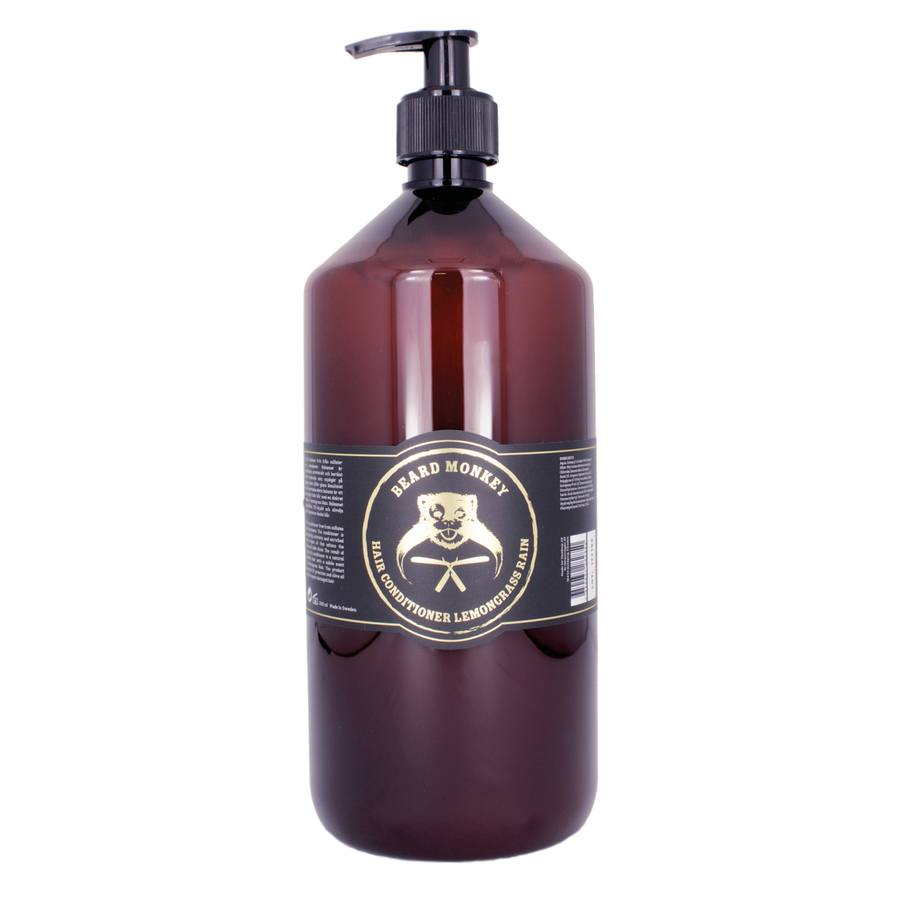 Beard Monkey Hair Conditioner 1 000 ml - Lemongrass Rain
