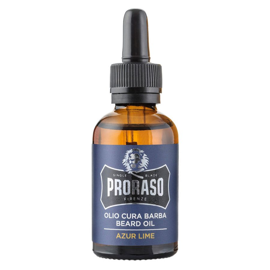 Proraso Azur Lime Beard Oil 30 ml ─ Lime And Mint