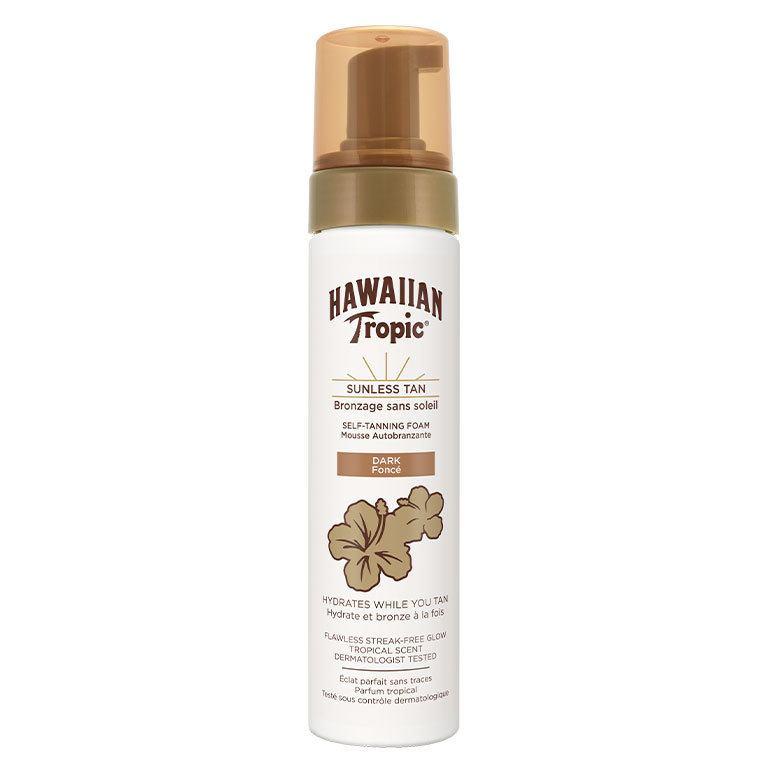 Hawaiian Tropic Self-Tanning Foam 200 ml – Dark