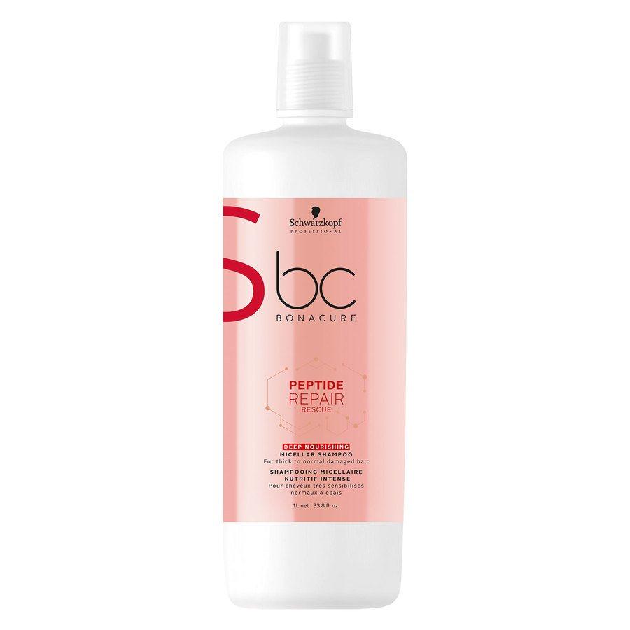 Schwarzkopf BC Peptide Repair Rescue Shampoo Deep Nourishing 1 000 ml
