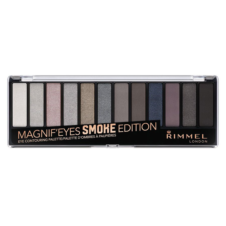 Rimmel London Magnif'eyes Eyeshadow Palette 14 g – Smoke Edition