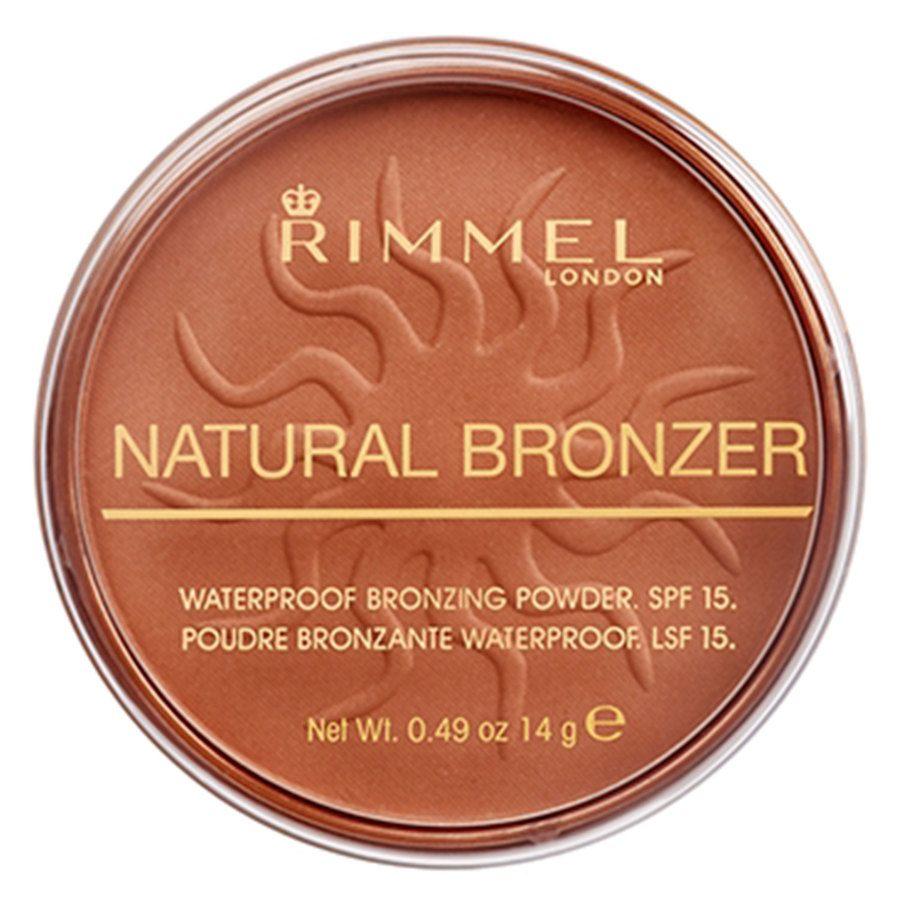 Rimmel London Natural Bronzer 14 g – Sun Glow 025