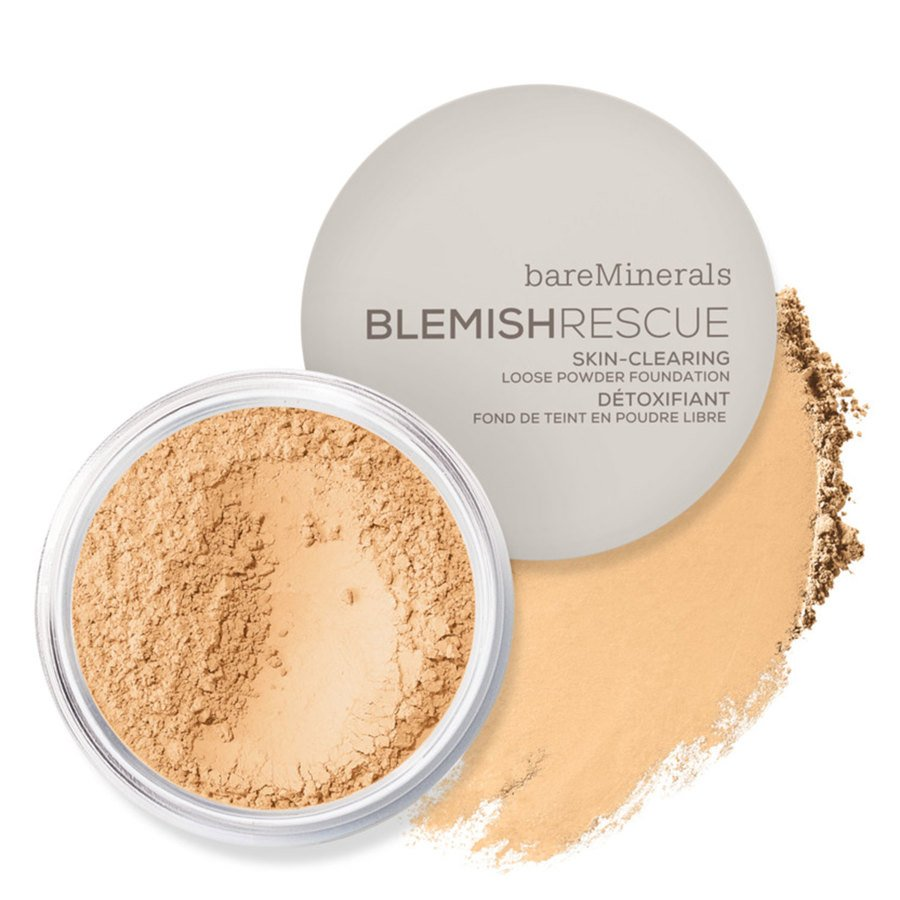 bareMinerals Blemish Rescue Skin Clearing Loose Powder Foundation Medium Beige 2.5N 6g