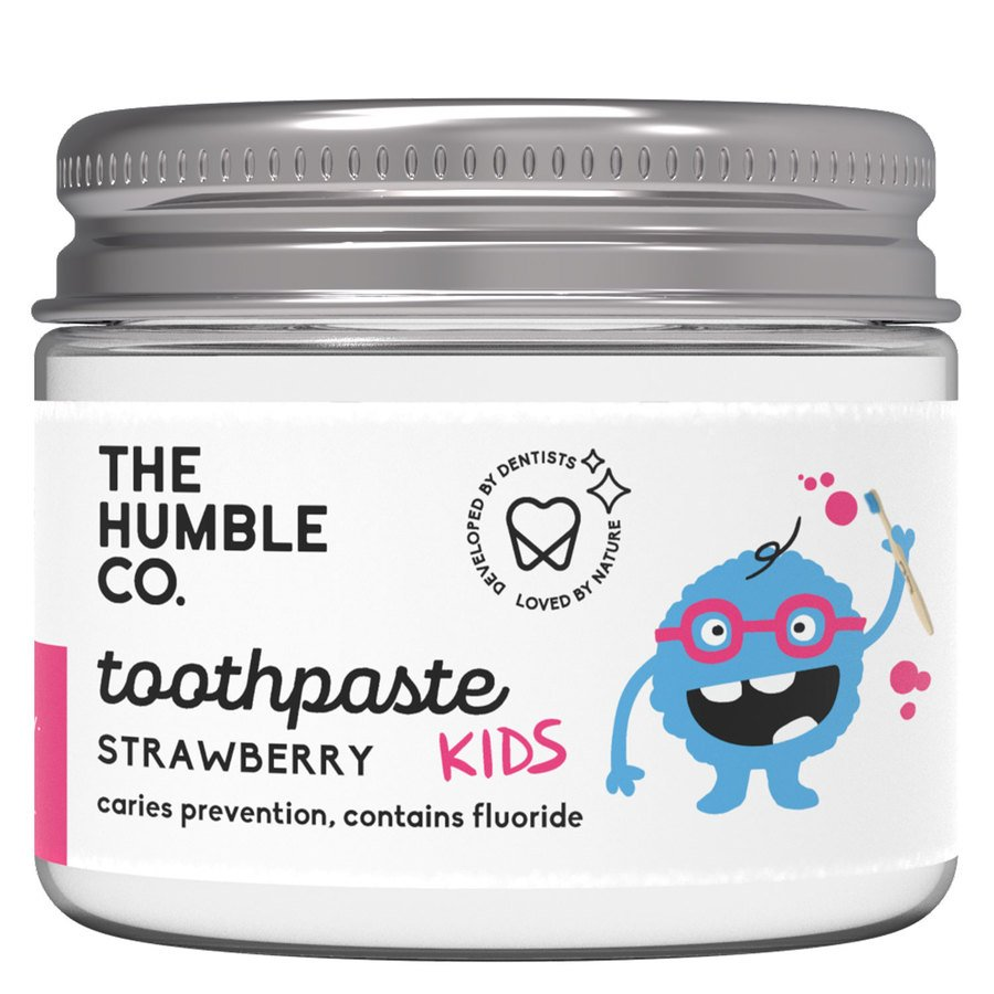 The Humble Co Humble Natural Toothpaste In Jar Kids Strawberry 50 ml