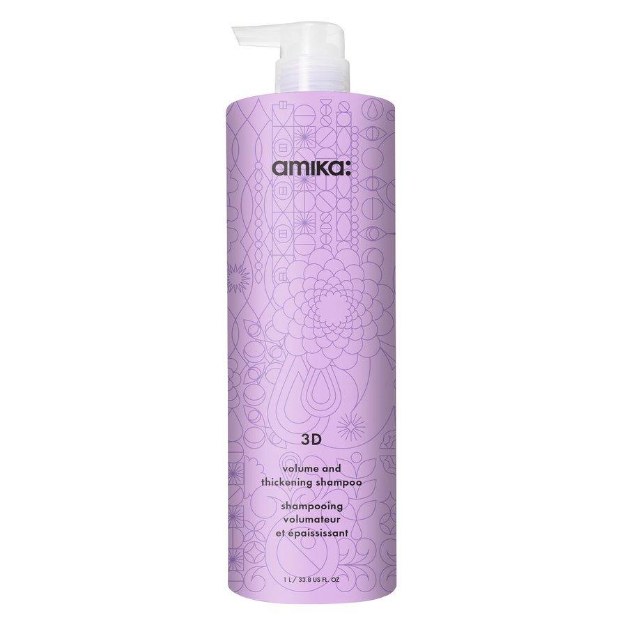 Amika 3D Volume And Thickening Shampoo 1 000 ml