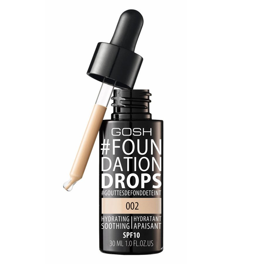 GOSH Foundation Drops 30 ml ─ #002 Ivory