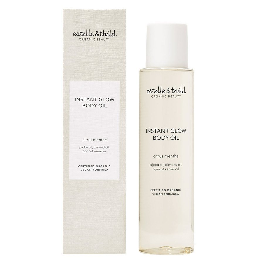 Estelle & Thild Instant Glow Body Oil 100 ml – Citrus Menthe