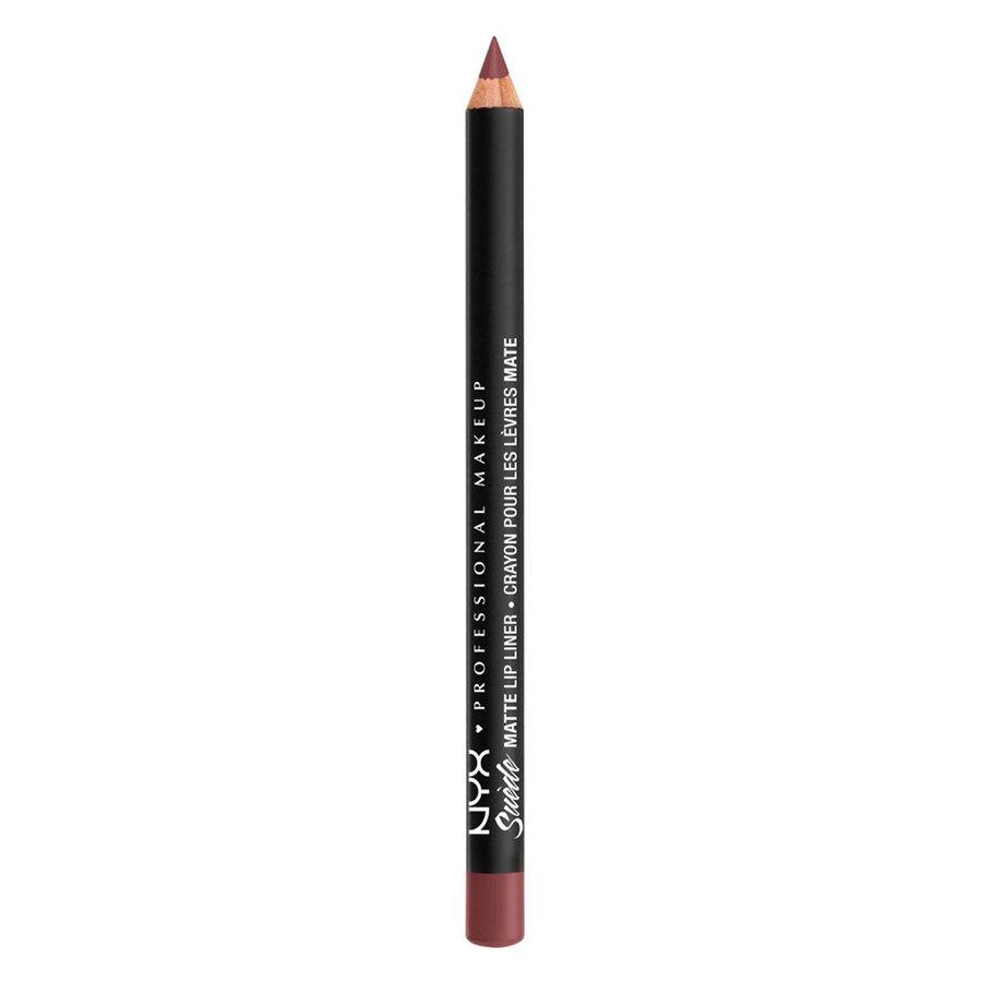 NYX Professional Makeup Suede Matte Lip Liner 1,0 g – Shanghai