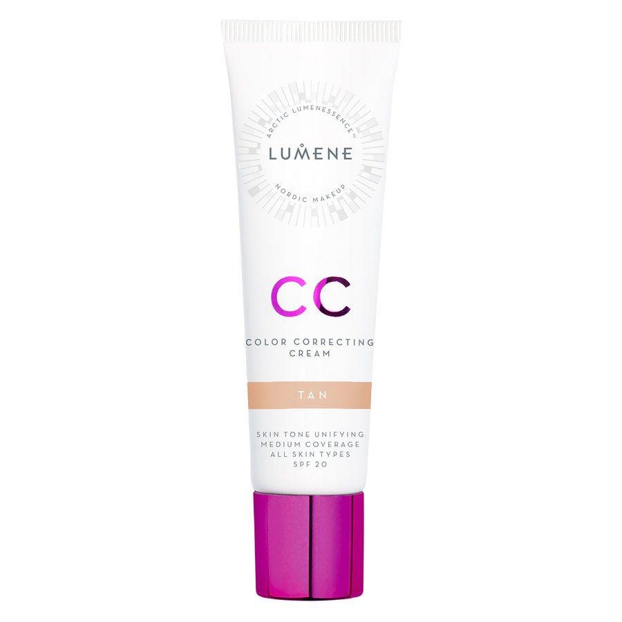 Lumene CC Color Correcting Cream SPF 20 30 ml - Tan