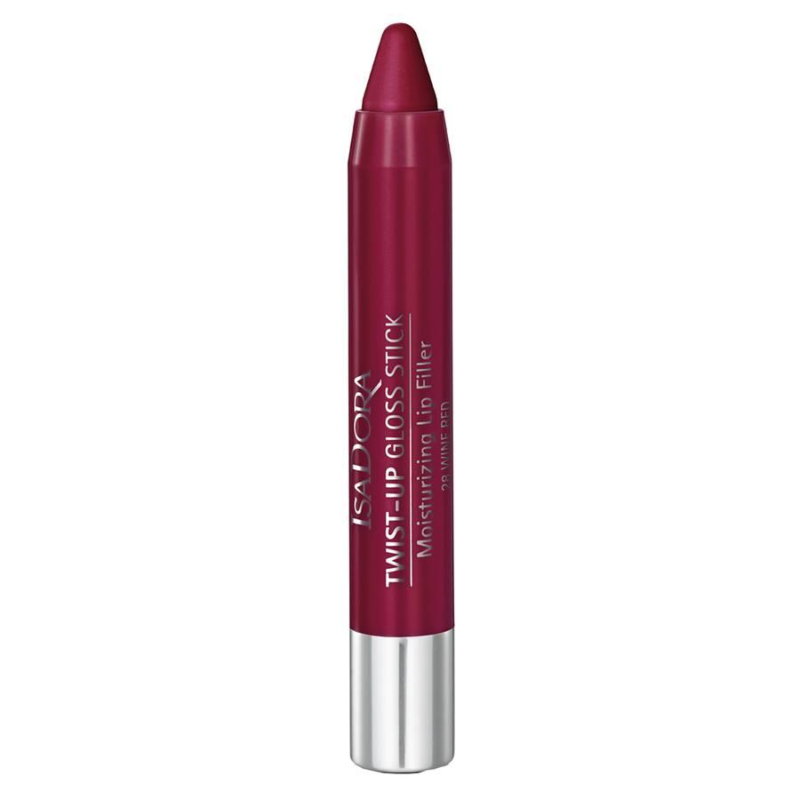 IsaDora Twist-Up Gloss Stick 3,3 g - 28 Wine Red