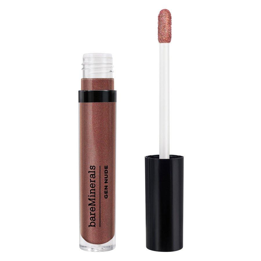 BareMinerals Gen Nude Metallic Patent Lip Lacquer 3,7 ml - Rubellite