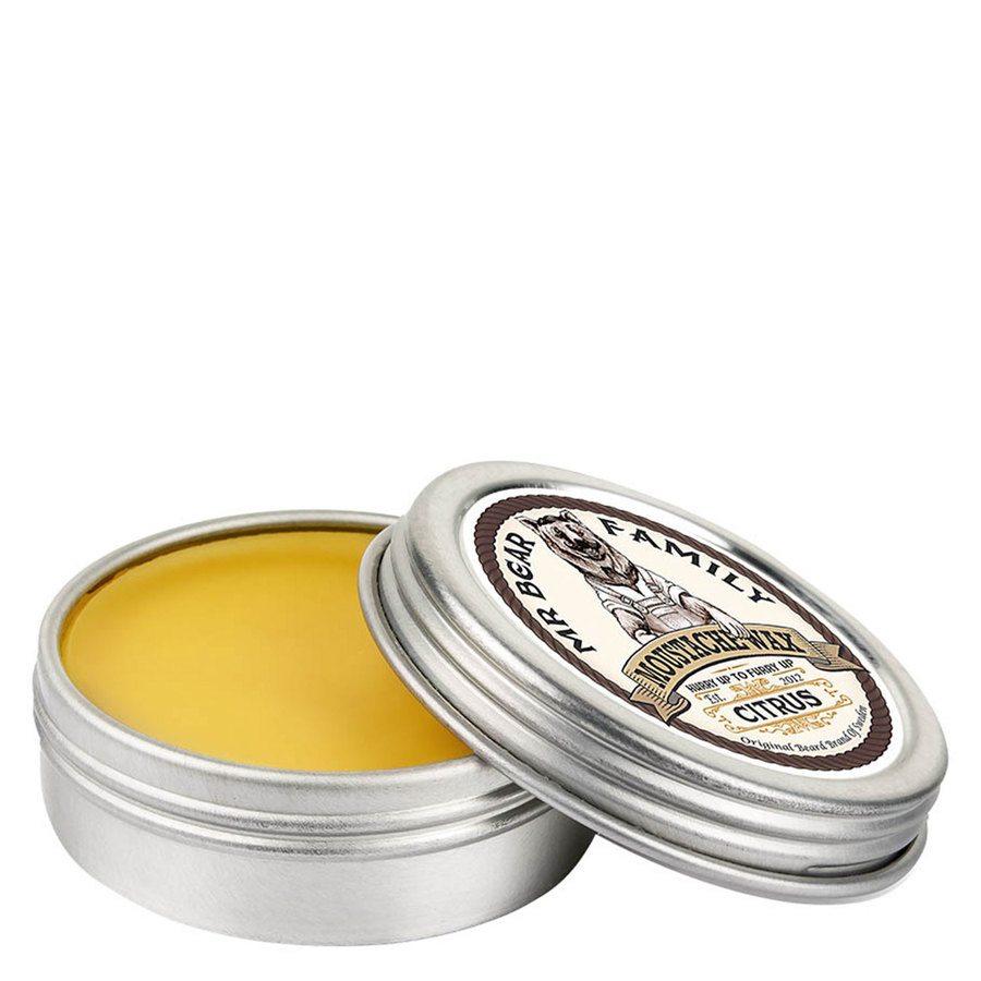 Mr Bear Family Moustache Wax Citrus 30 ml