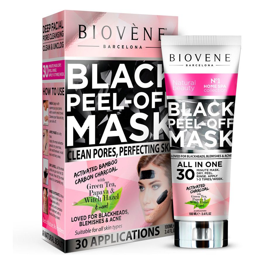 Biovène Black Peel-Off Mask Women 100 ml