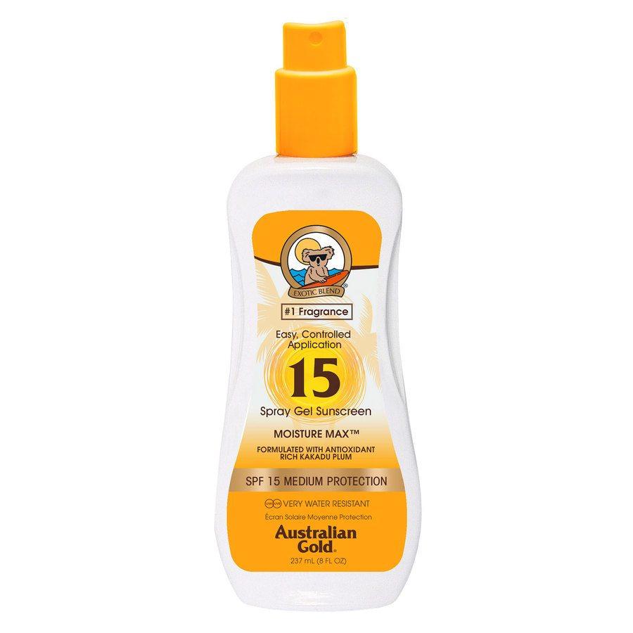 Australian Gold Spray Gel SPF 15 237 ml