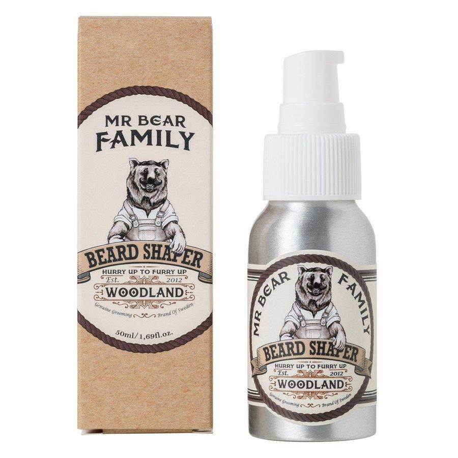 Mr Bear Family Beard Shaper Woodland 50 ml