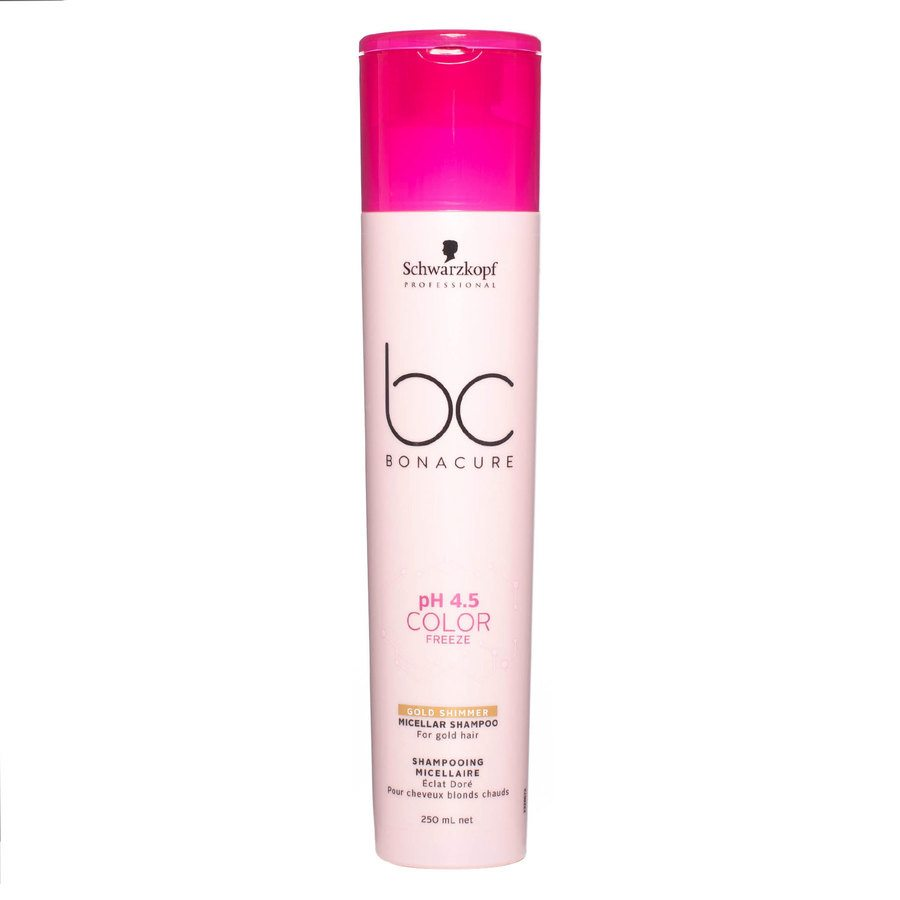 Schwarzkopf BC Bonacure Color Freeze Shampoo Gold Shimmer 250 ml
